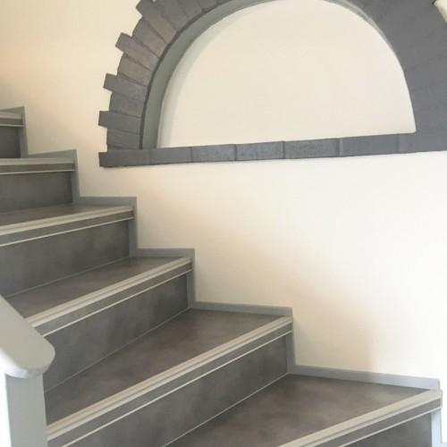 Rénovation aspect béton ciré