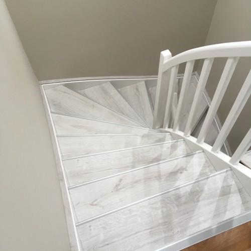 Rénovation d'escalier décor Ginger