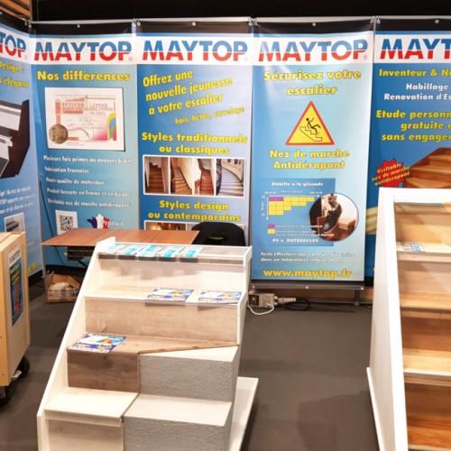 stand Maytop Habitat - rénovation escalier