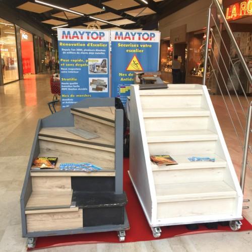 Rénovation escalier - stand alana concept Puy en Velay
