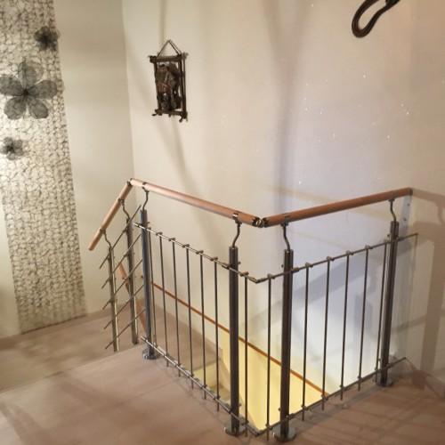 Rénovation d'un ancien escalier bois