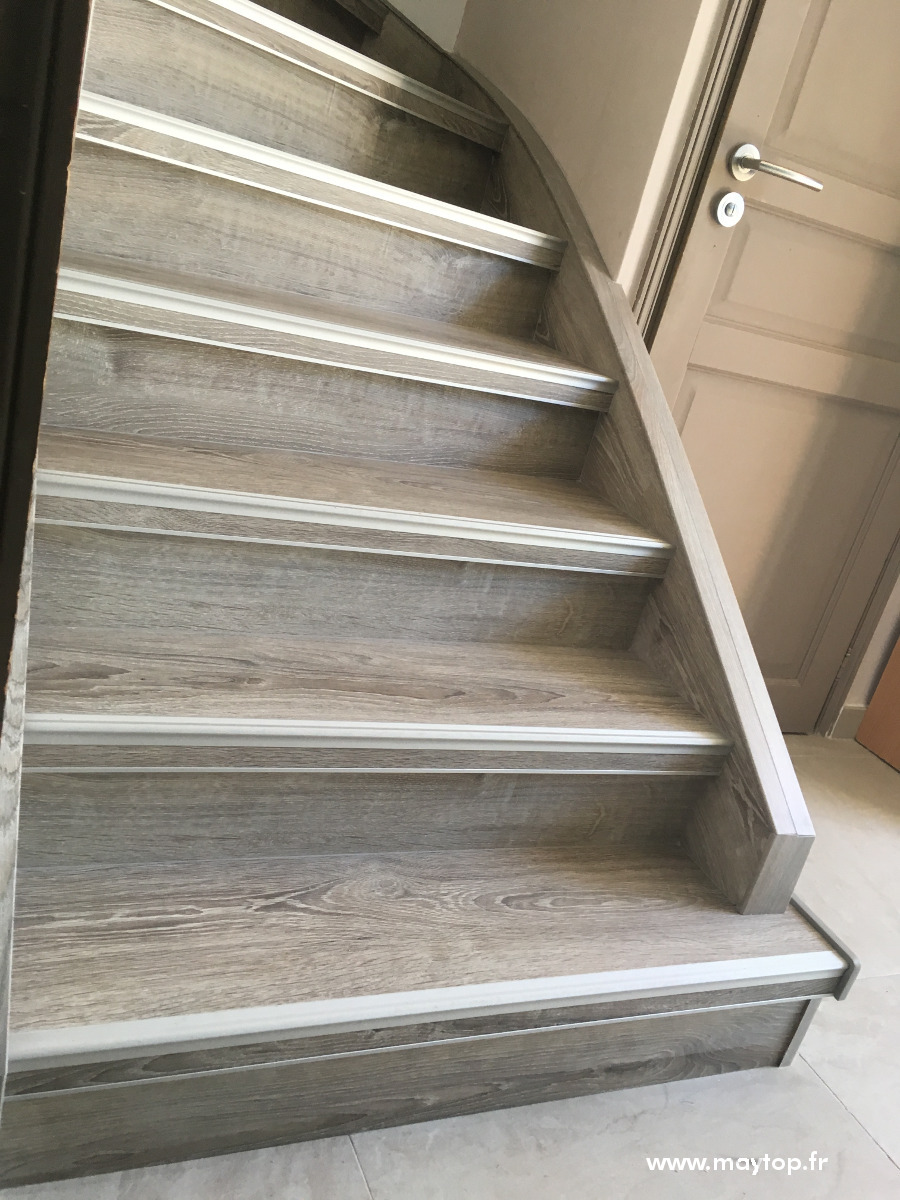 La rénovation d'escalier